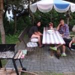 na chatě v Jankově