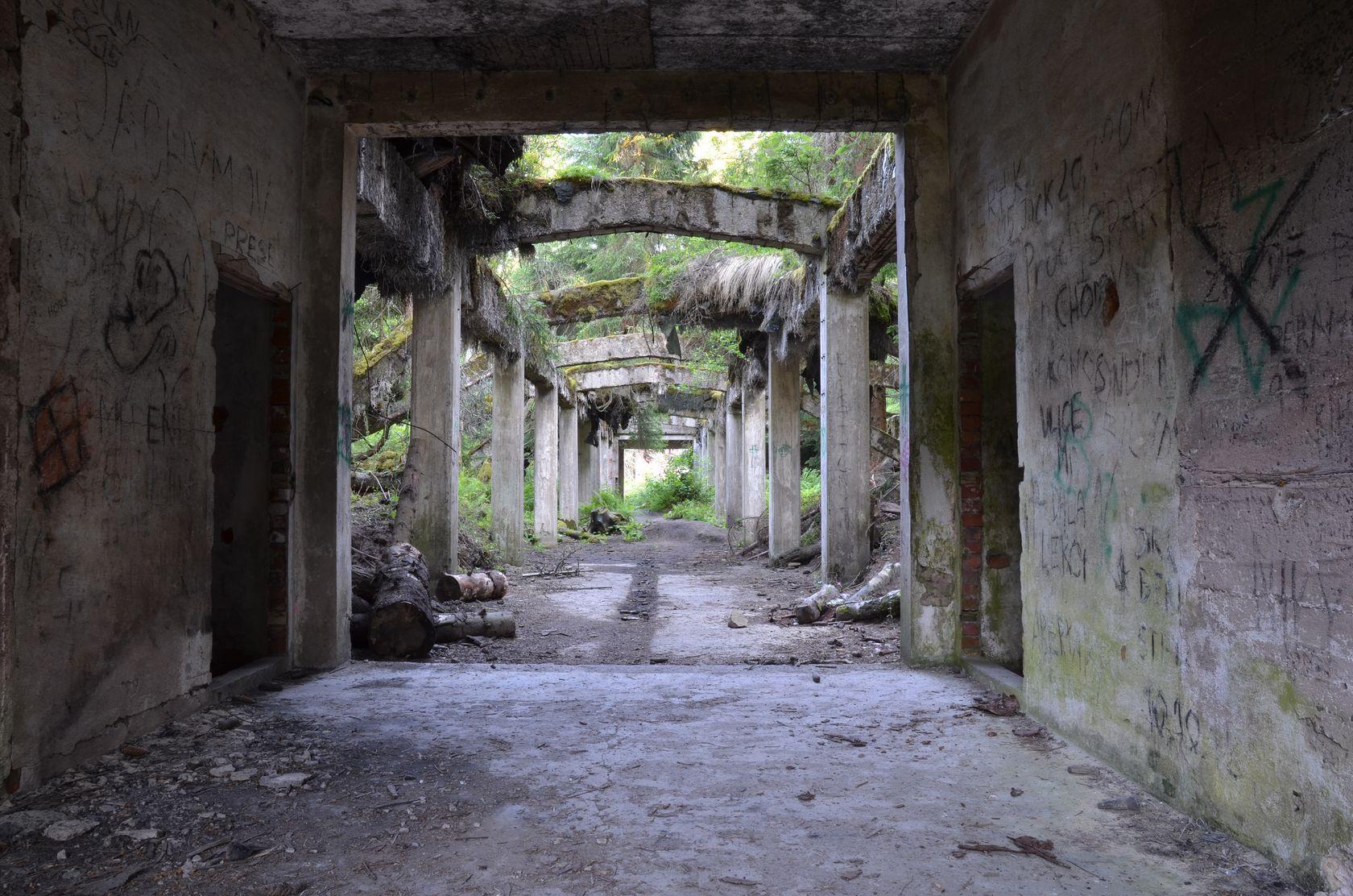 bývalý důl Rolava - Sauersack