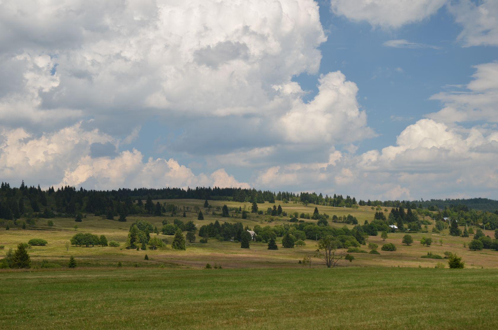 Pohled na Hřebečnou od Abertam