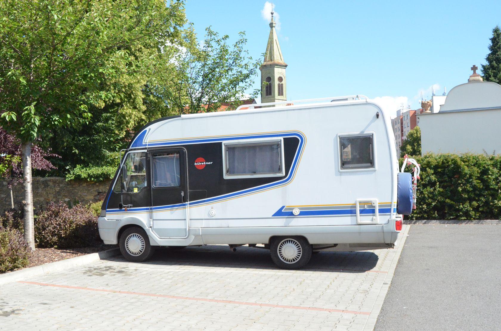 Horažďovice parking