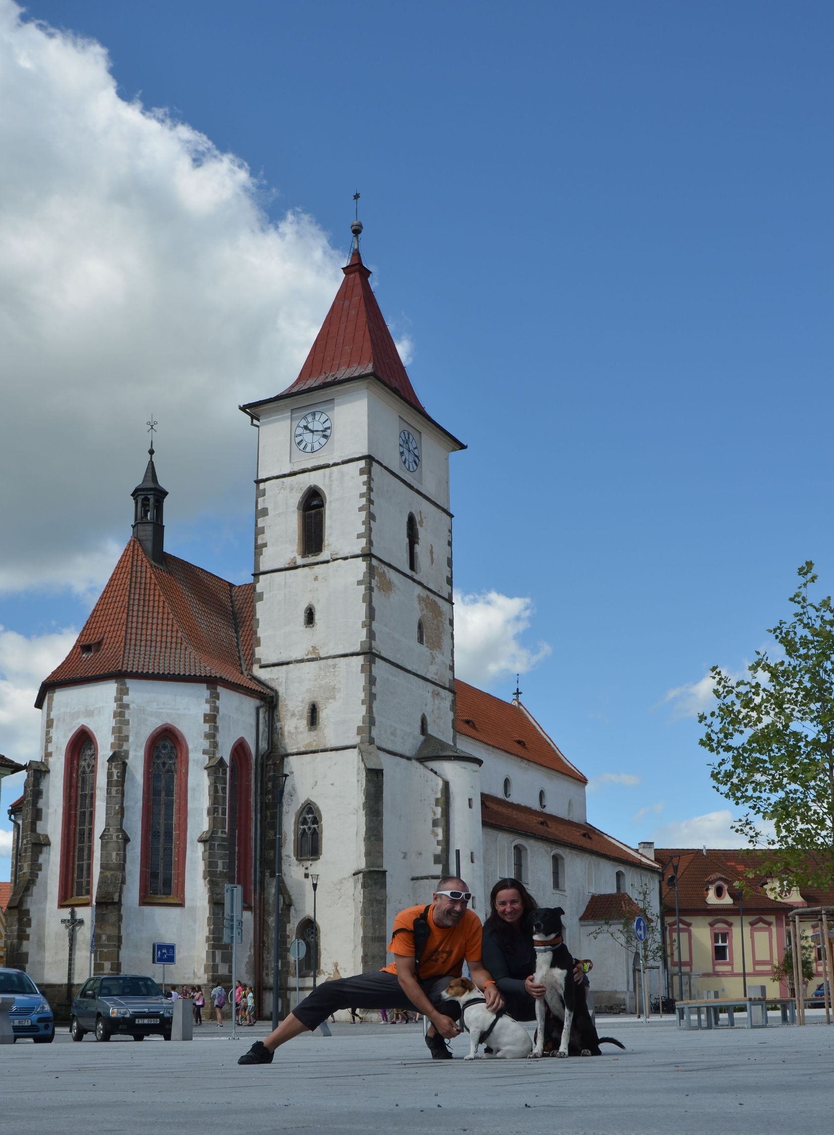 Horažďovice náměstí